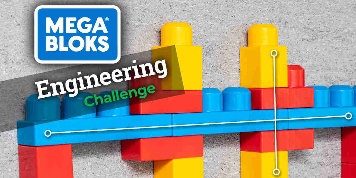 Megabloks Bridge Span Engineering Challenge
