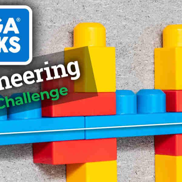 Megabloks Bridge Span Engineering Challenge