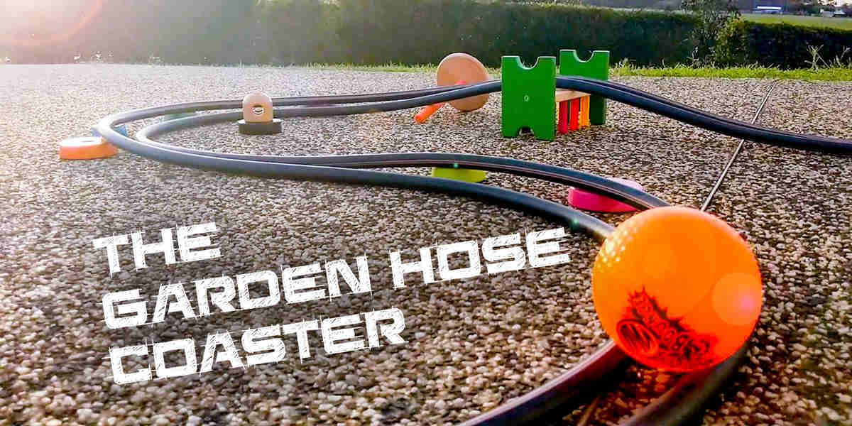 Make a Garden Hose Coaster