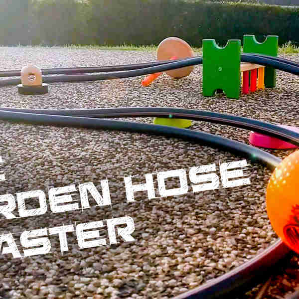 Make a Garden Hose Coaster