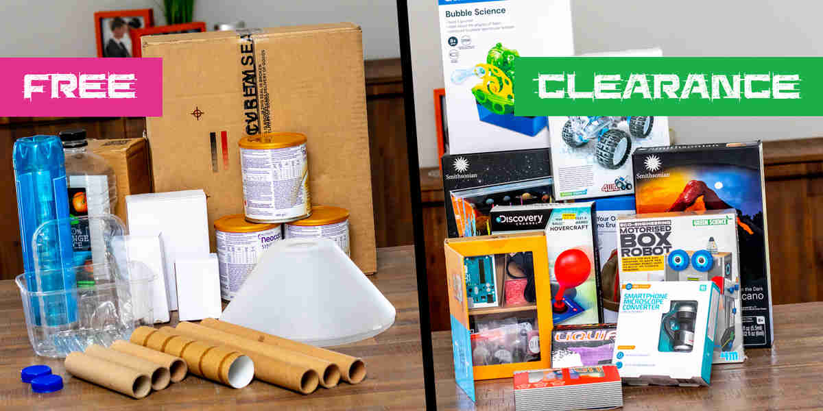 Collecting Resources For STEM Activities