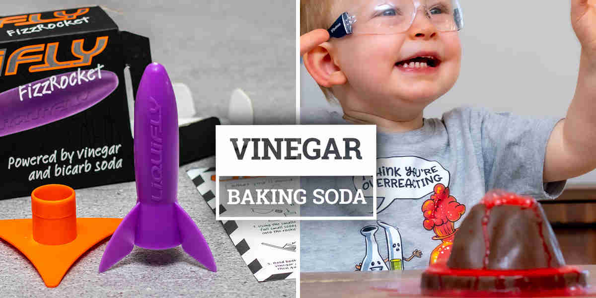 Kids Toys That Use Baking Soda & Vinegar