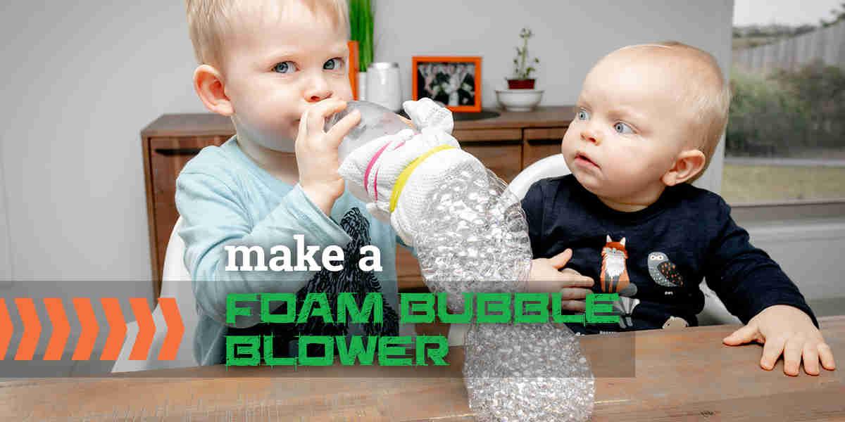 Create a Foam Bubble Blower