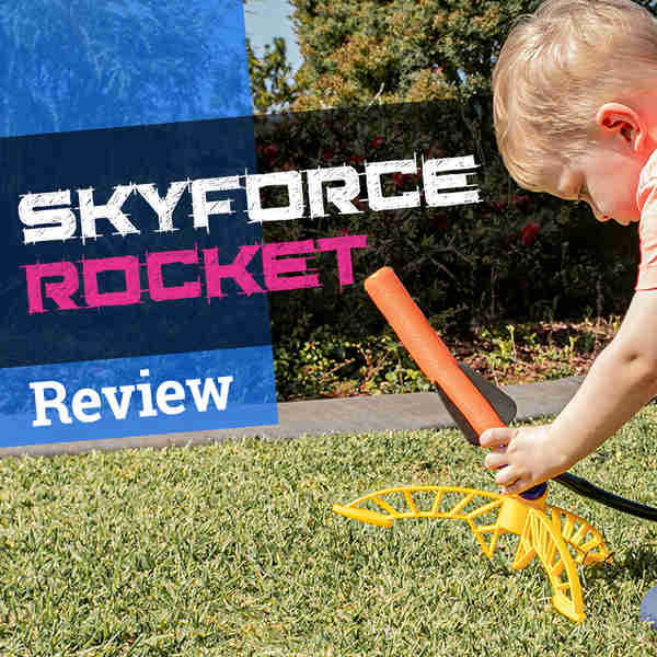 Review: Skyforce Rocket by Lanard